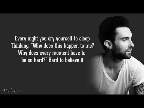 Maroon 5 - Won't Go Home Without You (Lyrics) 🎵