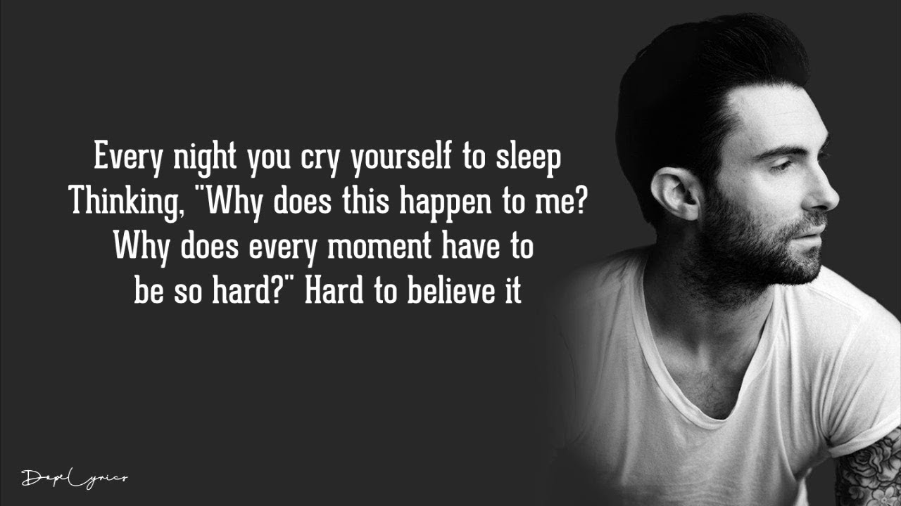 Download Maroon 5 - Won't Go Home Without You (Lyrics) 🎵