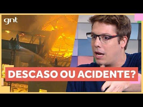 Incêndio no Museu Nacional: descaso com a história? | Papo Rápido | Papo de Segunda