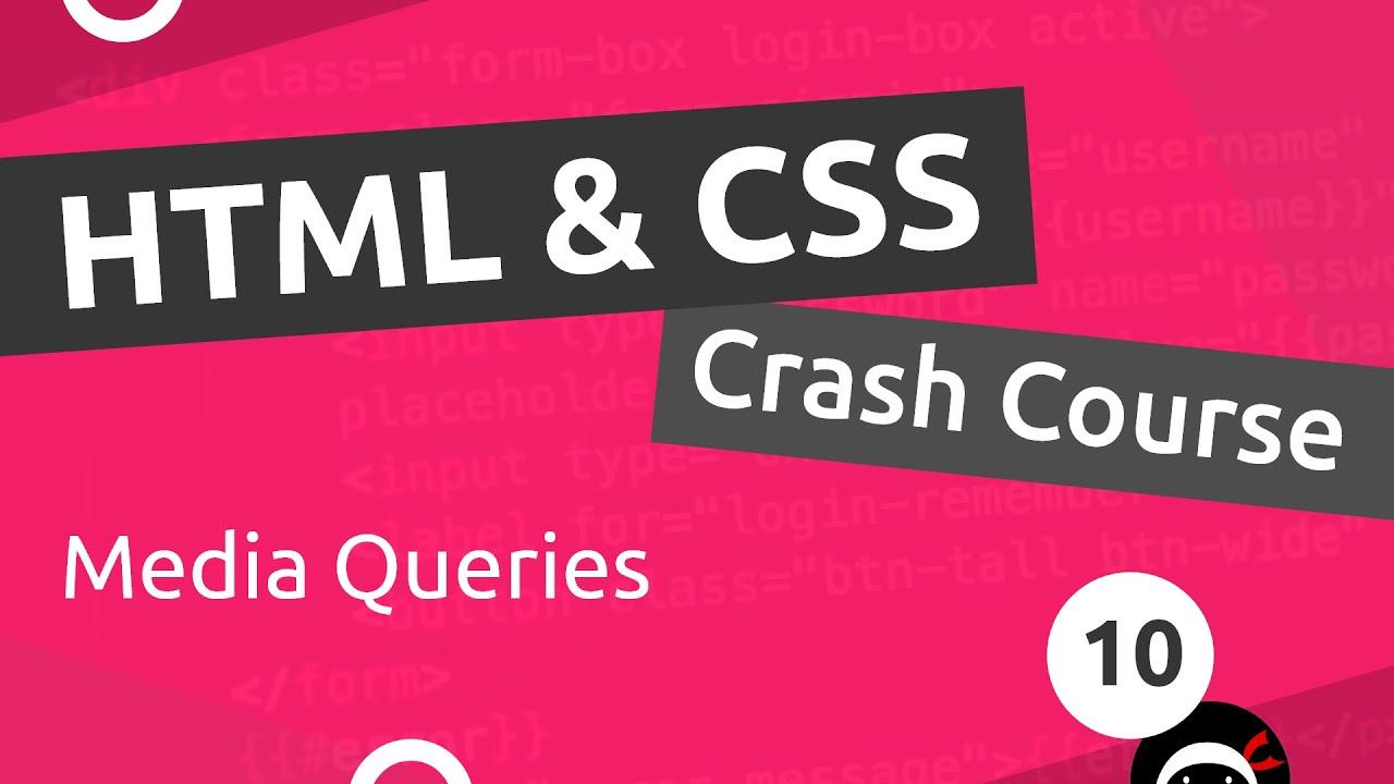 Renov & Co Les Herbiers html & css crash course tutorial #10 - intro to media queries