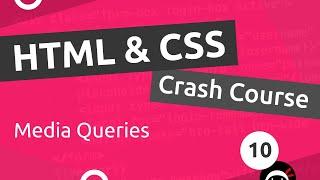 Download lagu HTMLCSS Crash Course Tutorial 10 Intro to Media Queries MP3