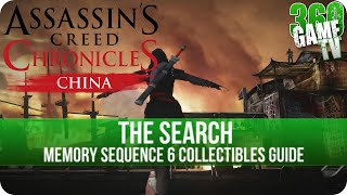 Assassins Creed Chronicles: China - The Search - Collectible Locations (Animus Shards and Chests)