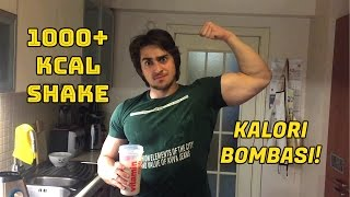 1000+ KALORİ Shake Tarifi!!!