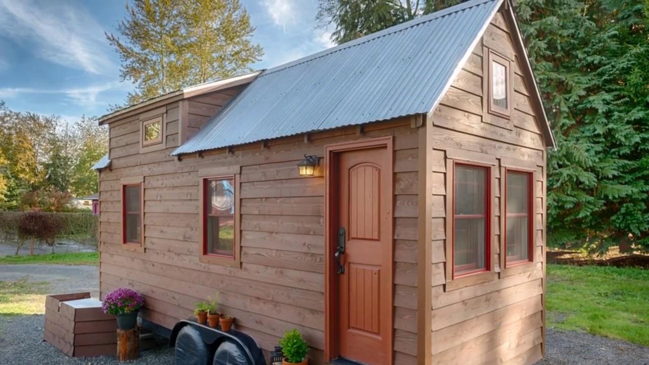 The Tack Tiny House a 140 SQ FT Tiny Home in Washington YouTube