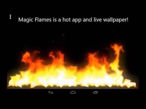 Magic Flames - fire simulation app for Android