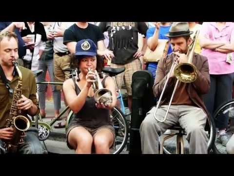 "Tuba Skinny -""Gotta Give Me Some"" - Royal St. 4/13/13    - MORE at DIGITALALEXA channel"