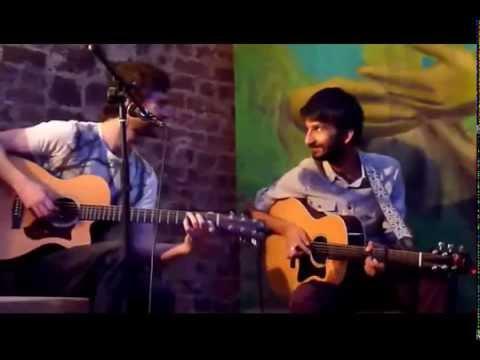 Amit Dattani & Chris Cleverley im Café la Victoria, Bonn