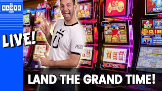 🔴LIVE - Brian tries to #LandTheGrand using Strategies of past winners! 🎰 BCSlots.com #AD