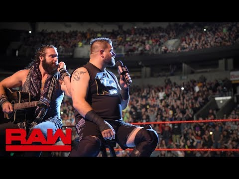 The Seattle crowd boos Kevin Owens and Elias into oblivion: Raw, Oct. 1, 2018