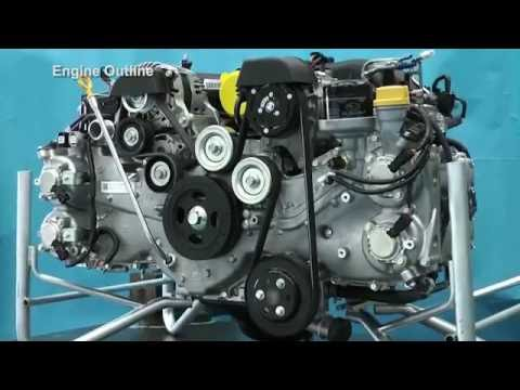 Subaru BRZ Engine Technical Information - YouTube