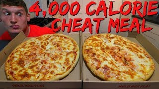 EPIC CHEAT MEAL | 4,000 CALORIES | Full Day of Eating