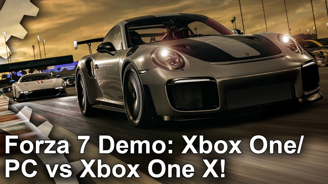 4k forza motorsport 7 demo xbox one vs xbox one x vs pc. Black Bedroom Furniture Sets. Home Design Ideas