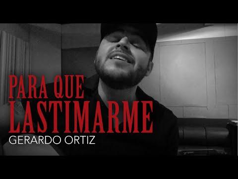 """""""PARA QUE LASTIMARME"""" - Gerardo Ortiz (Próximamente) Comere Callado"""