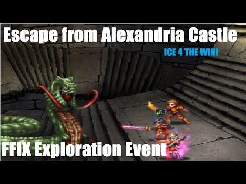 FFBE    Escape from Alexandria Castel [HARD] // ALL ACHIEVEMENTS //Exploration guide.