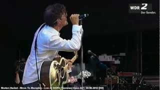 """Morten Harket - Move To Memphis - Live At WDR 2, """"Sommer Open Air"""" 30.06.2012 [HD]"""