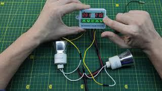 Терморегулятор, контроллер температуры двухканальный ZFX-ST3012