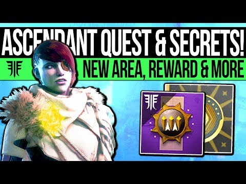 Destiny 2 | NEW ASCENDANT CHALLENGE & QUEST! New Portal Location, Easy Powerful Gear & City Changes! thumbnail