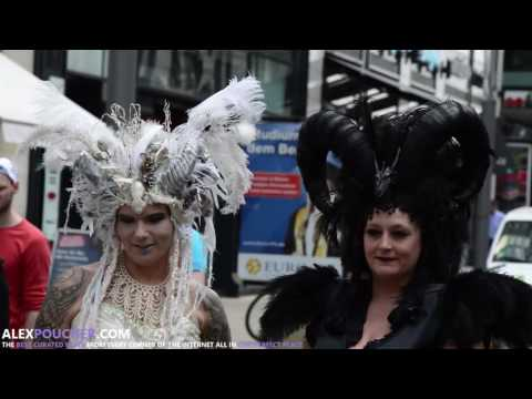 Wave-Gotik-Treffen - Goths, Vampires, Steam Punk Invade Leipzig, Germany