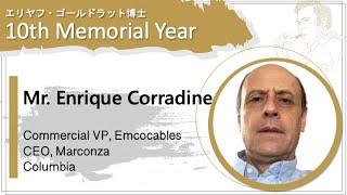 Enrique Corradine   Commercial VP Emcocables & CEO Marconza  Colombia