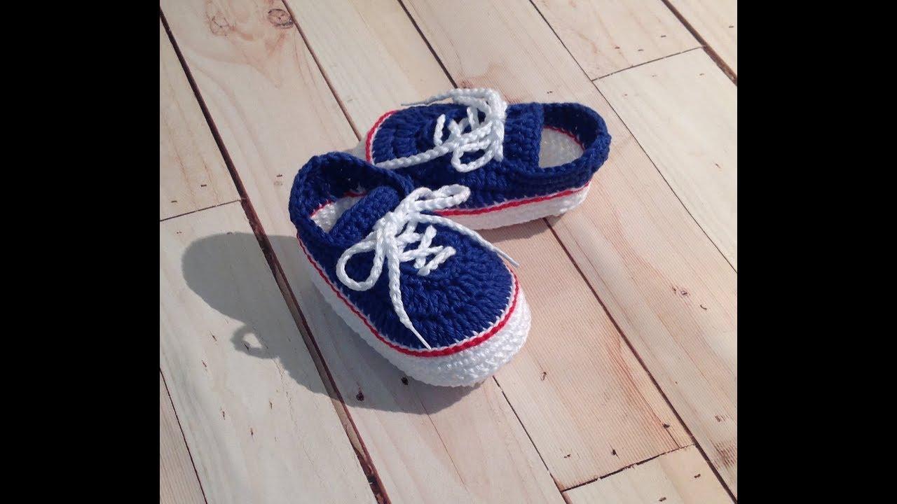 c012242688 Tênis Vans de crochê - tamanho 10,5 cm - YouTube