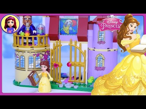 Thumbnail: LEGO Disney Princess Belle's Enchanted Castle Set Build Review Silly Play - Kids Toys