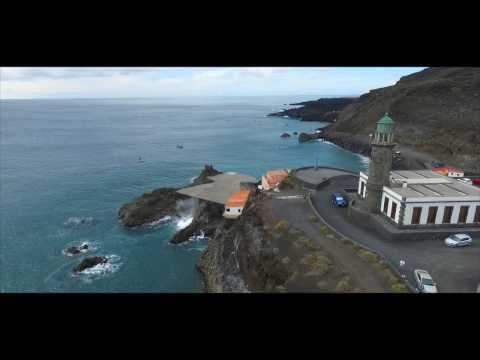 La Palma en drone.