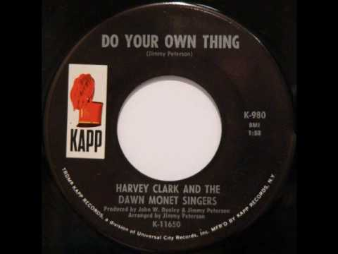 FUNK: Harvey Clark and The Dawn Monet Singers - Do Your Own Thing (Sample)