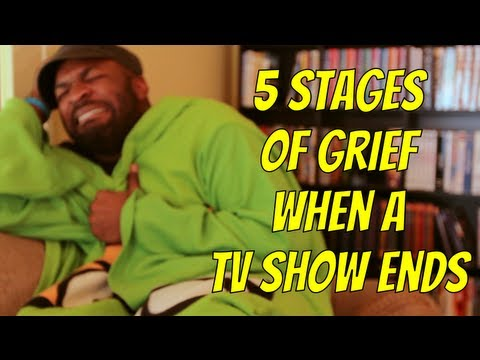 5 stages of grief when your favorite show ends youtube - Your favorite show ...