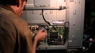 Sharp hd tv repair fix lc42sb456u will not turn on