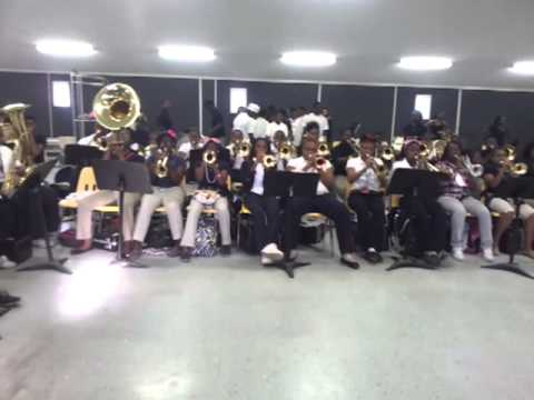 "Heidelberg High School Band playing ""C Murda"" 2012"