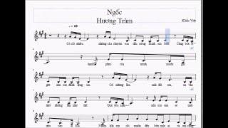 Sheet music Ngốc - Hương Tràm