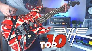 Top 10 Guitar Riffs: Van Halen