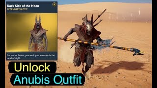 Assassin's Creed Origins: Unlock Anubis Outfit (Dark Side of the Moon)