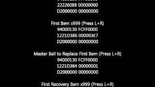 Pokemon Black & White 2 Action Replay Codes