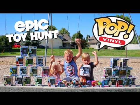 Teen Titans Go Yo GABBA GABBA Star Wars Batman and MORE! EPIC TOY HUNT  sc 1 st  YouTube & POP CHARACTERS! Teen Titans Go Yo GABBA GABBA Star Wars Batman ...