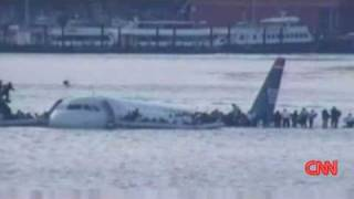 NEW Jan 17 Latest Plane Crash Hudson River New York City Water