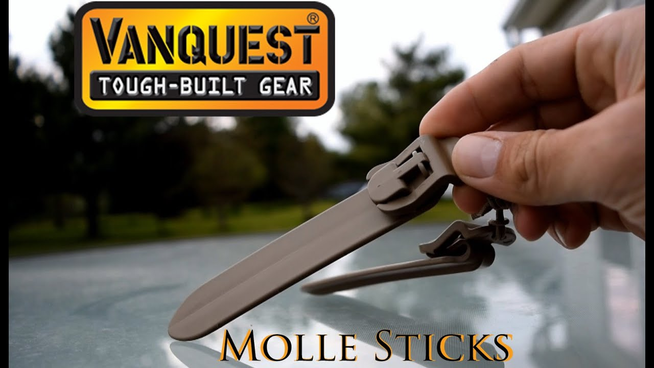 Download Molle Sticks from Vanquest: Greatest Innovation in Tactical Gear
