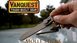 Molle Sticks from Vanquest: Greatest Innovation in Tactical Gear