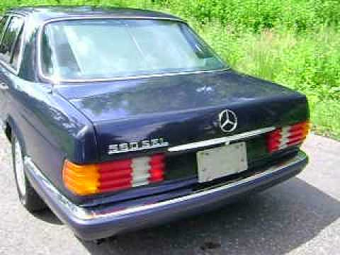 Mercedes benz 560sel w126 1991 95400km for sale youtube for Mercedes benz w126 for sale