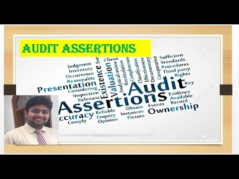 What is Auditing assertions|Financial statement assertions|