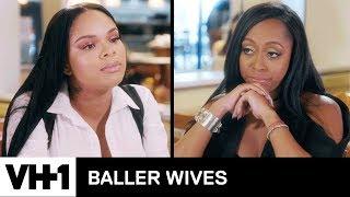 Stacey & Kijafa Meet Face To Face | Baller Wives