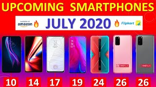 Top Upcoming Smartphones July 2020🔥🔥🔥