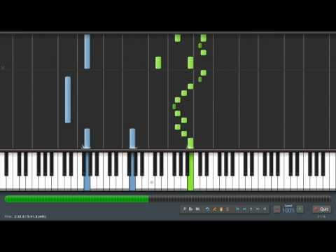 Pachelbel: Canon in D - Piano Tutorial (Synthesia) + Sheet Music & MIDI