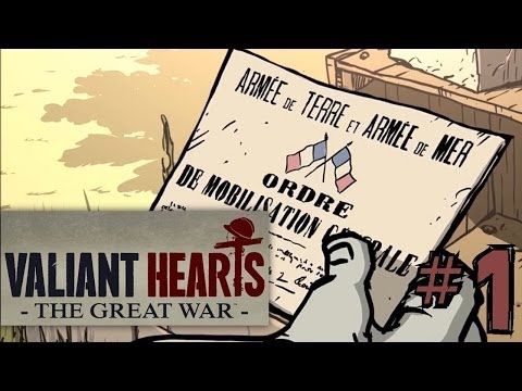 Let's Play Valiant Hearts - The Great War #1 First 20 Minutes
