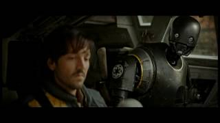 Rogue One A Star Wars Story Exclusive Scene - Jyn