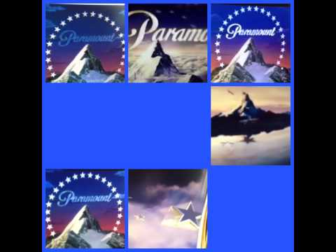 Mix of paramount pictures logos