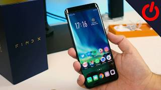 Oppo Find X Smartphone Review Unboxing