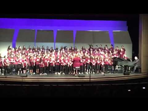 McCarthy middle school chorus 2019