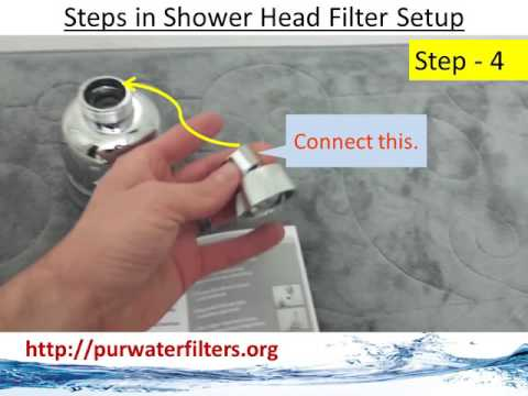 Culligan Water Filter WSH C125 Wall Mount Shower Filter YouTube