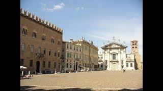 ... mantua is a city surrounded by 3 artificial lakes in the northern italian region of lombardy. it's known for architec...